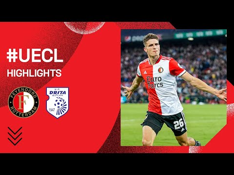 Feyenoord Drita Goals And Highlights