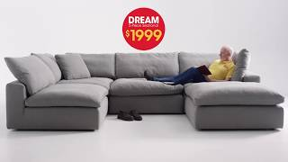 Dream 5 Piece Sectional For Only $1999 At Bob's Discount Furniture!