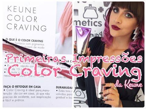 Primeiras impressões: Color Craving da Keune com Leticia Oliveira | Sarah Cadosh