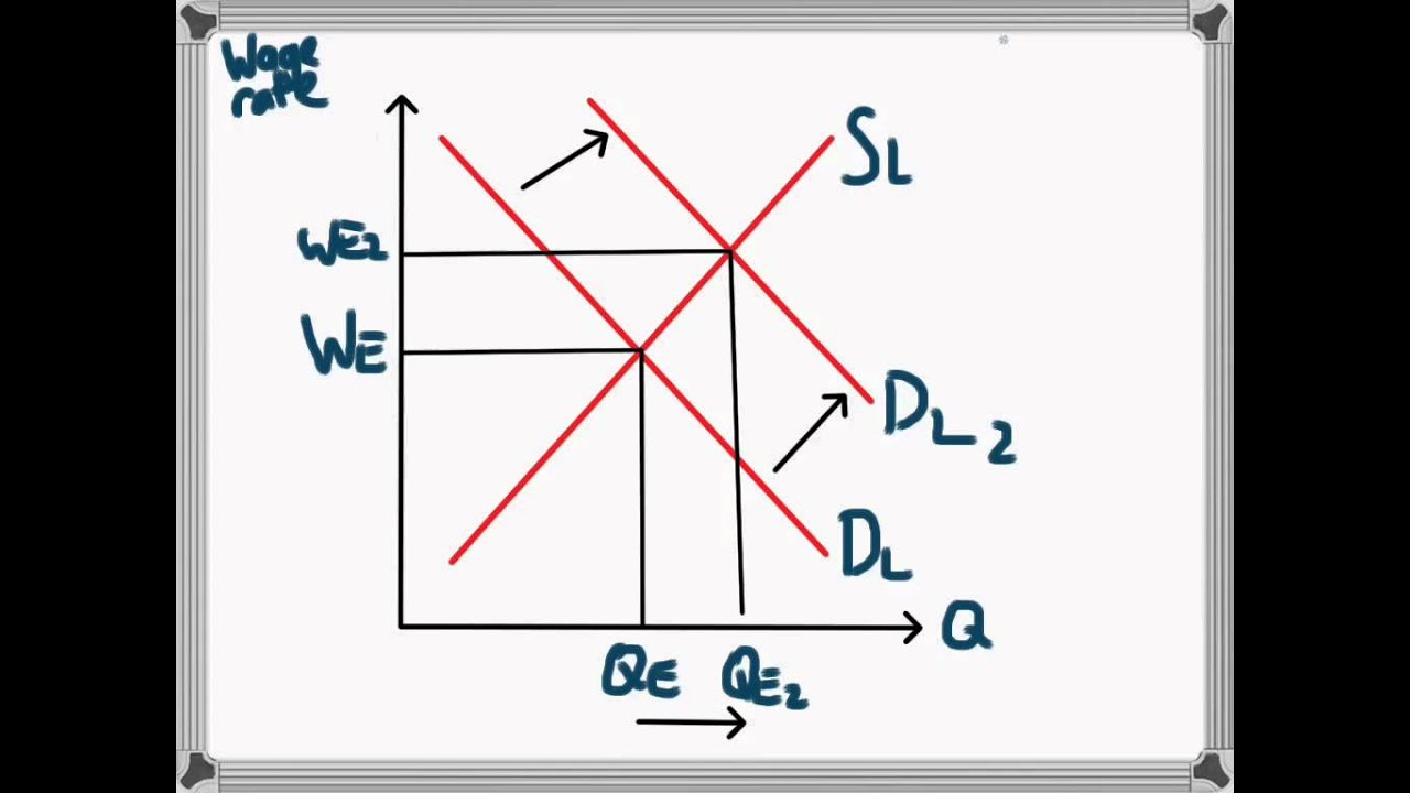 causes of shifts in labor demand Causes of shifts in labor demand curve the labor demand curve shows the value of the marginal product of labor as a function of quantity of labor hired.