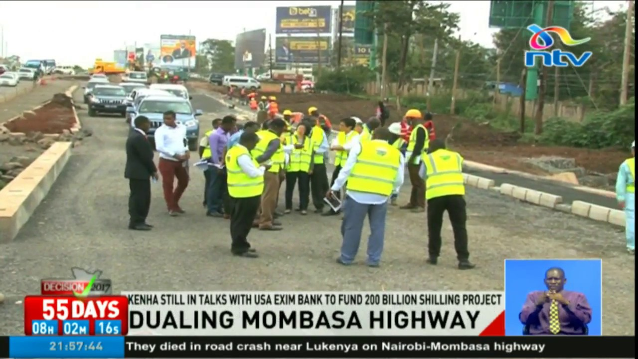 Government sourcing for funds to turn Mombasa Highway into a dual carriage