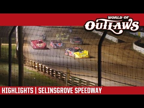 World of Outlaws Craftsman Late Models Selinsgrove Speedway September 4th, 2016 | HIGHLIGHTS