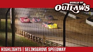 World of Outlaws Craftsman Late Models Selinsgrove Speedway Highlights