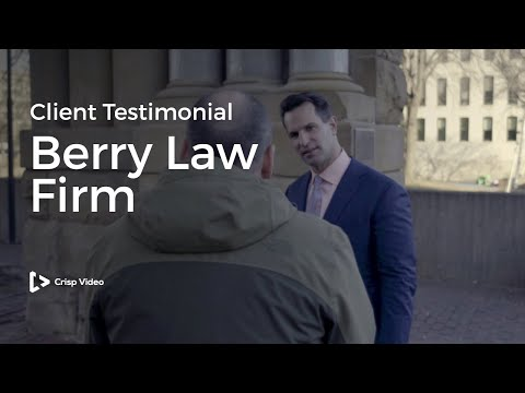 Berry Law Firm Client Testimonial | Legal Video Marketing