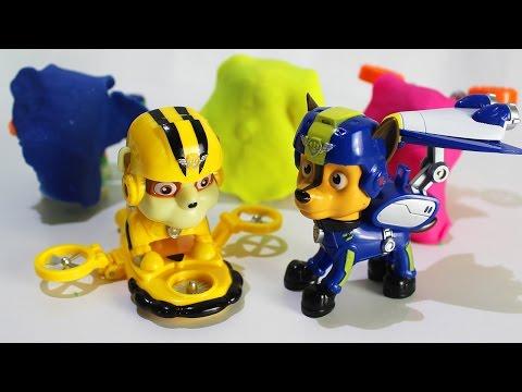 ЩЕНЯЧИЙ ПАТРУЛЬ Новые серии Учим цвета и играем вместе в развивающие мультики для детей Новые Щенки