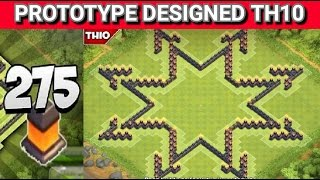"Clash of Clans - ""New"" Layout, Design (TH10) Farming Base 2015 w/275 walls + Speed Build 
