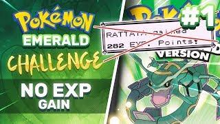 No EXP Challenge   Pokemon Emerald part 1
