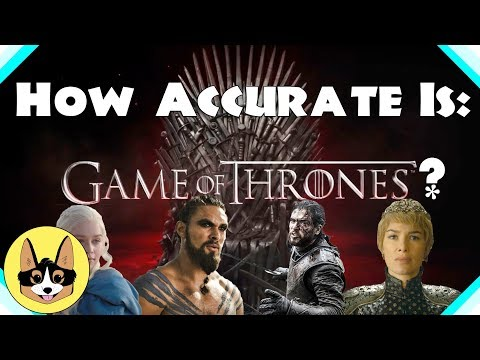 How Realistic is Game of Thrones?  Ft Pc Genie