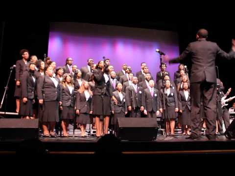 Young, Gift & Black (Nina Simone)  Part 2 Wiley College A Capella Choir
