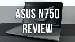 видео Обзор мультимедийного ноутбука ASUS N750