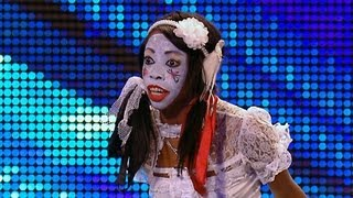 Video Geisha Davis sings Humpty Dumpty - Britain's Got Talent 2012 audition - International version download MP3, 3GP, MP4, WEBM, AVI, FLV Oktober 2017