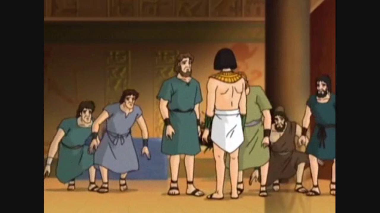 Biblia : Génesis 45 - José se da a conocer a sus hermanos - YouTube