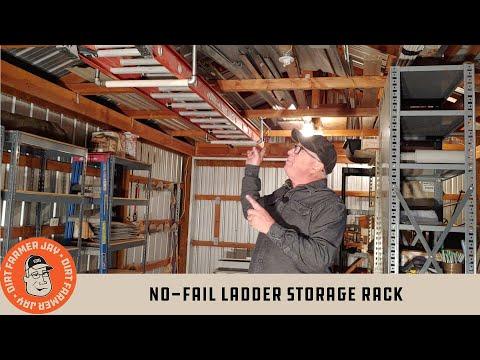 No-Fail Ladder Storage Rack
