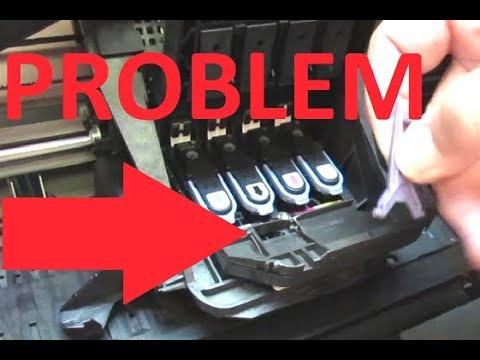 HP Designjet 500 / 800 Carriage Latch Repair