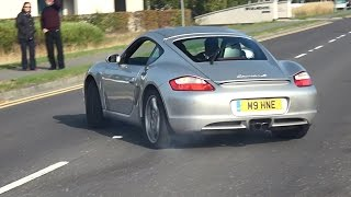Supercars and Tuners leaving a Car Show - October 2016