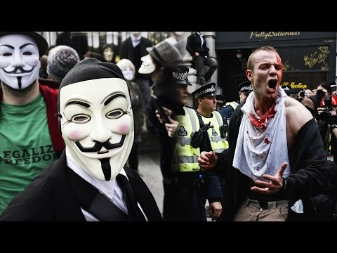Thumbnail: Anonymous - Million Mask March 2016