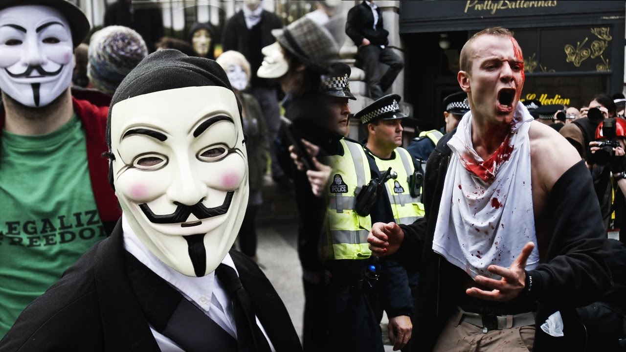 Anonymous Million Mask March 2016 Youtube