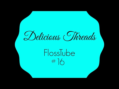 FlossTube #16: January = FINISHES!