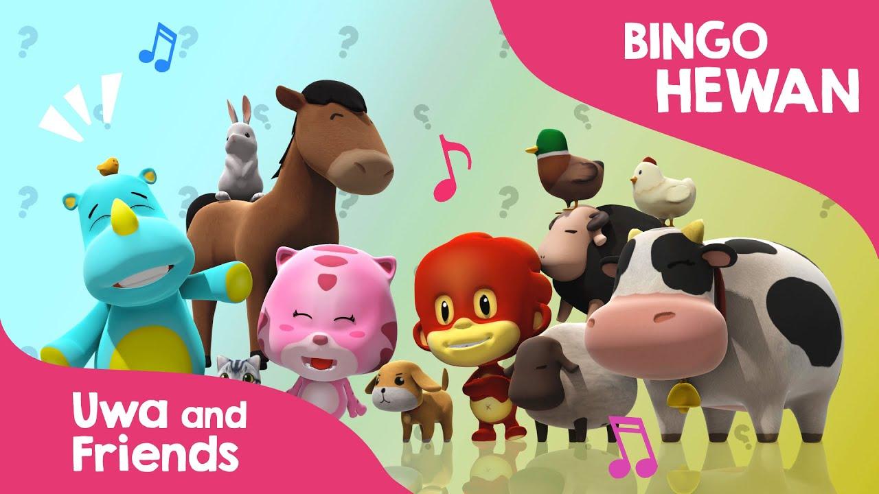 Lagu Anak Indonesia Belajar Suara Hewan Ternak - Bingo