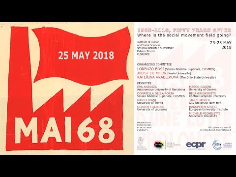 1968-2018, fifty years after... - Beyond new social movements? - 25 May 2018