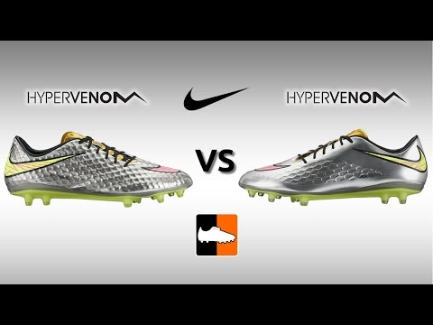 Nike Hypervenom Phantom vs. Phatal Football Boots Comparison