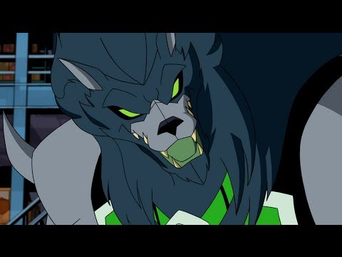 Ben 10: Omniverse - Blitzwolfer Transformation - YouTube