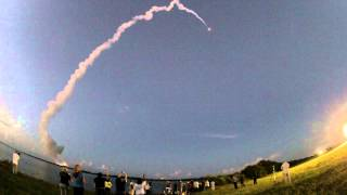 Delta IV launches WGS-6: Fisheye HD from 2.7 miles away