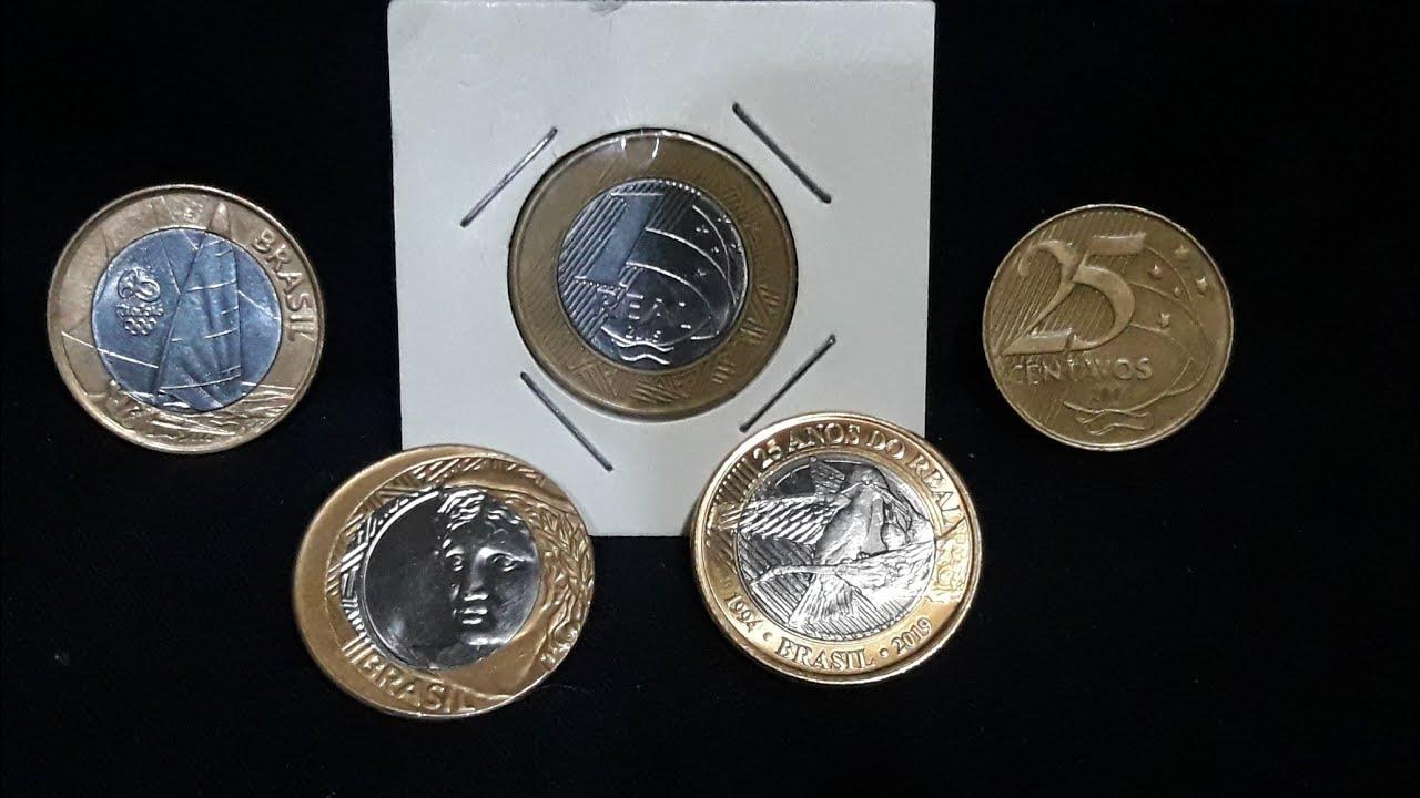 Como identificar moedas raríssimas que valem até 8.000,00 !!! reais e vc as vezes pega de troco