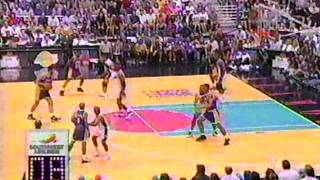 Lakers @ Spurs, 95 Semis (2 of 2) (CHICK HEARN)