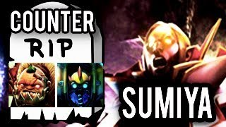 Easily Counter SumiYa [Legendary Invoker] Dota 2 SumiYa 7.06 Patch