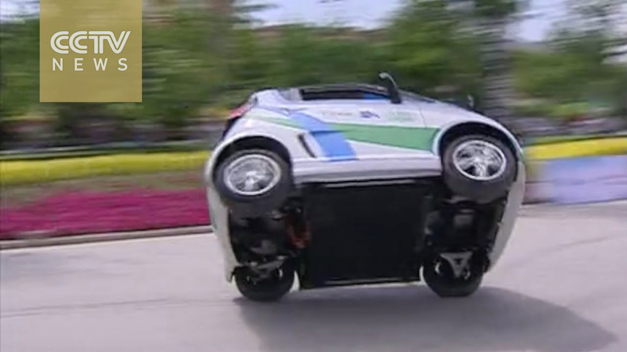 Electric Car Challenge Compeion Held In China