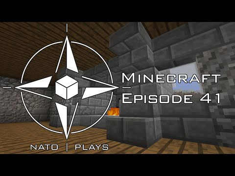 NATO Plays Minecraft - Episode 41: Fire! Kind of ...