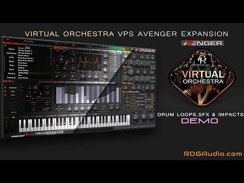 Virtual Orchestra VPS Avenger Expansion RDGAudio Over 200 Presets
