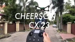 รีวิวโดรน Cheerson CX-23 GPS DRONE มีโหมดบินกลับตำแหน่งเดิมที่บินขึ้น ราคา 6900 บาท