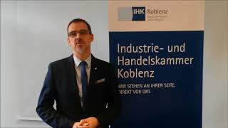 Karriereschub 2018: IHK (Dr. Bernd Greulich und Alexander Kohnen)