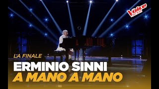 "Erminio Sinni ""A mano a mano"" – Finale – The Voice Senior"