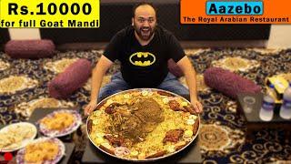 Full Goat Mandi Worth Rs 10000 At Aazebo-The Royal Arabian Restaurant, Hyderabad