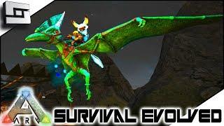 ARK: Survival Evolved   EPIC Pteranodon TAMED! E3 ( Modded Ark Extinction  Core )