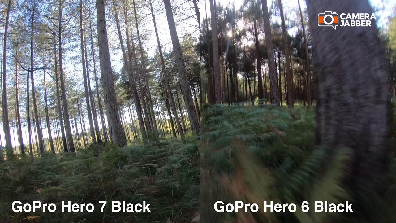 GoPro Hero 7 Black Vs GoPro Hero 6 Black sample footage