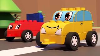 🚂 ЧиЧиЛенд - Длинный поезд - Мультики про машинки и паровозики - Играем с конструктором!