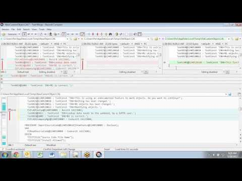 Mergetool MGT1 30 18 with Beyond Compare integration - YouTube