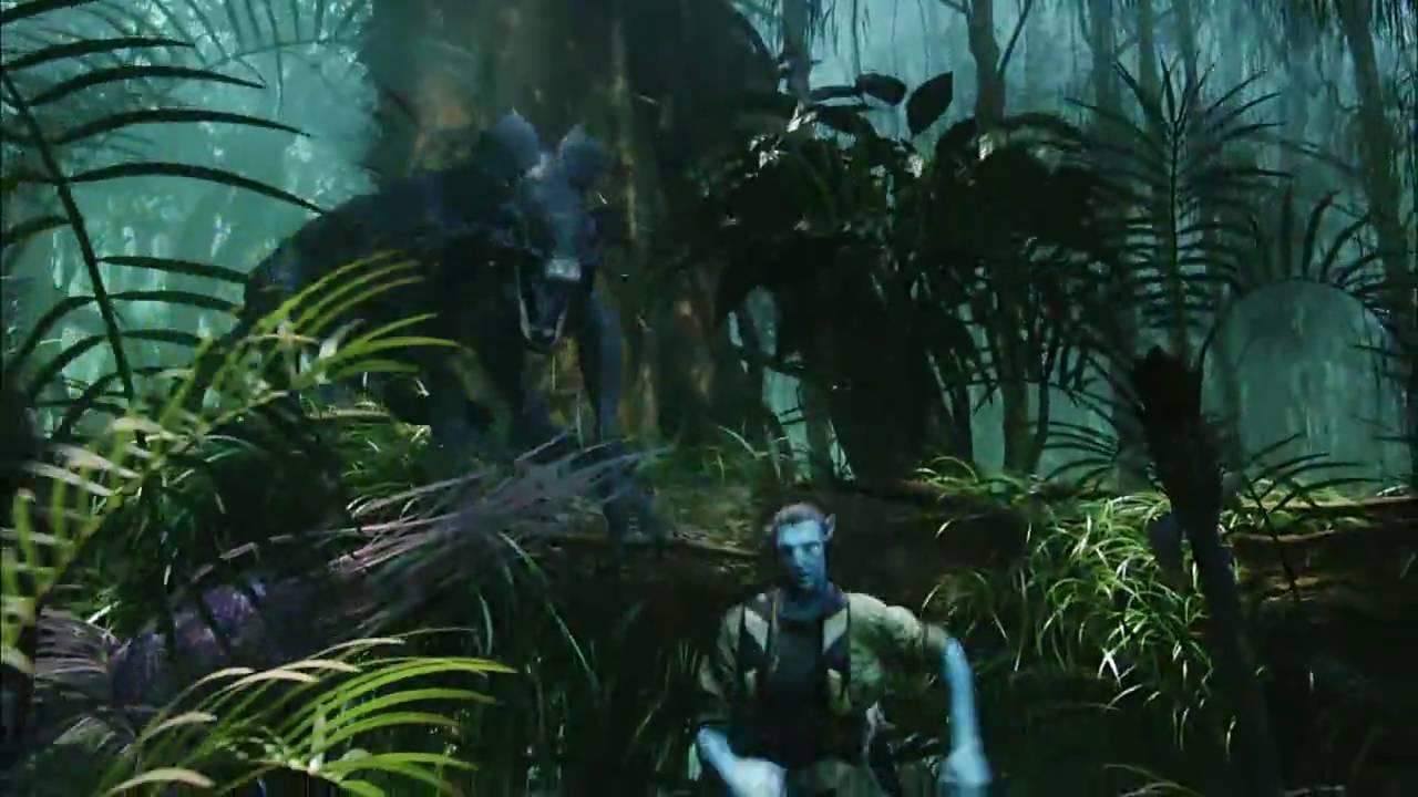 Avatar Movie Clip Thanator Chase Hd Avi Youtube