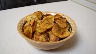 Хрустящие чипсы в домашних условиях / Рецепт вкусных чипсов