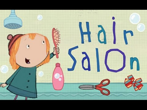 Peg and Cat at The Hair Salon  Peg  Cat Games For Kids  YouTube