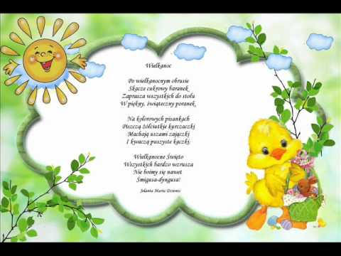 Wielkanoc Wiersz Jolanty Marii Dzienis2wmv Youtube