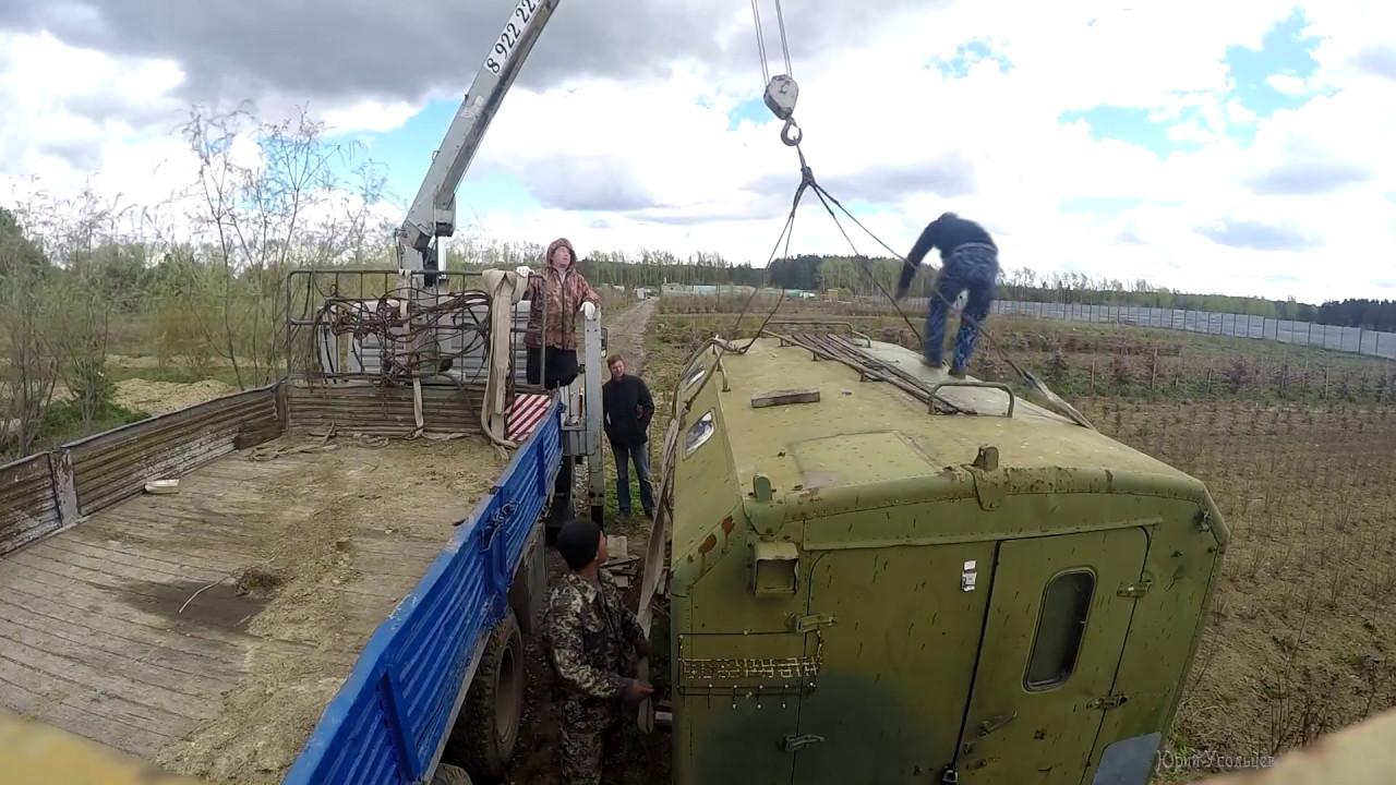 Кран- манипулятор на базе КАМАЗ | Продажа - YouTube