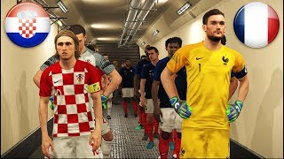 PES 2018 | FRANCE vs CROATIA | Full Match & Amazing Goals | Gameplay PC