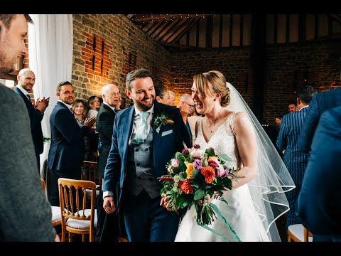 Sarah & Tom's Bartholomew Barn Wedding