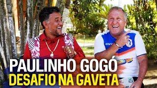 NA GAVETA #7 - PAULINHO GOGÓ - Desafio de falta Tele-Sena | Canal Zico 10