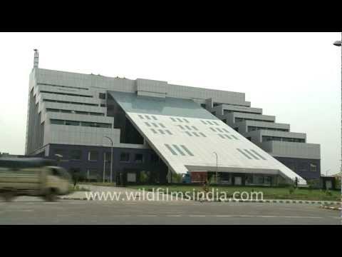 Rockland Hospital building in Manesar, Gurgaon